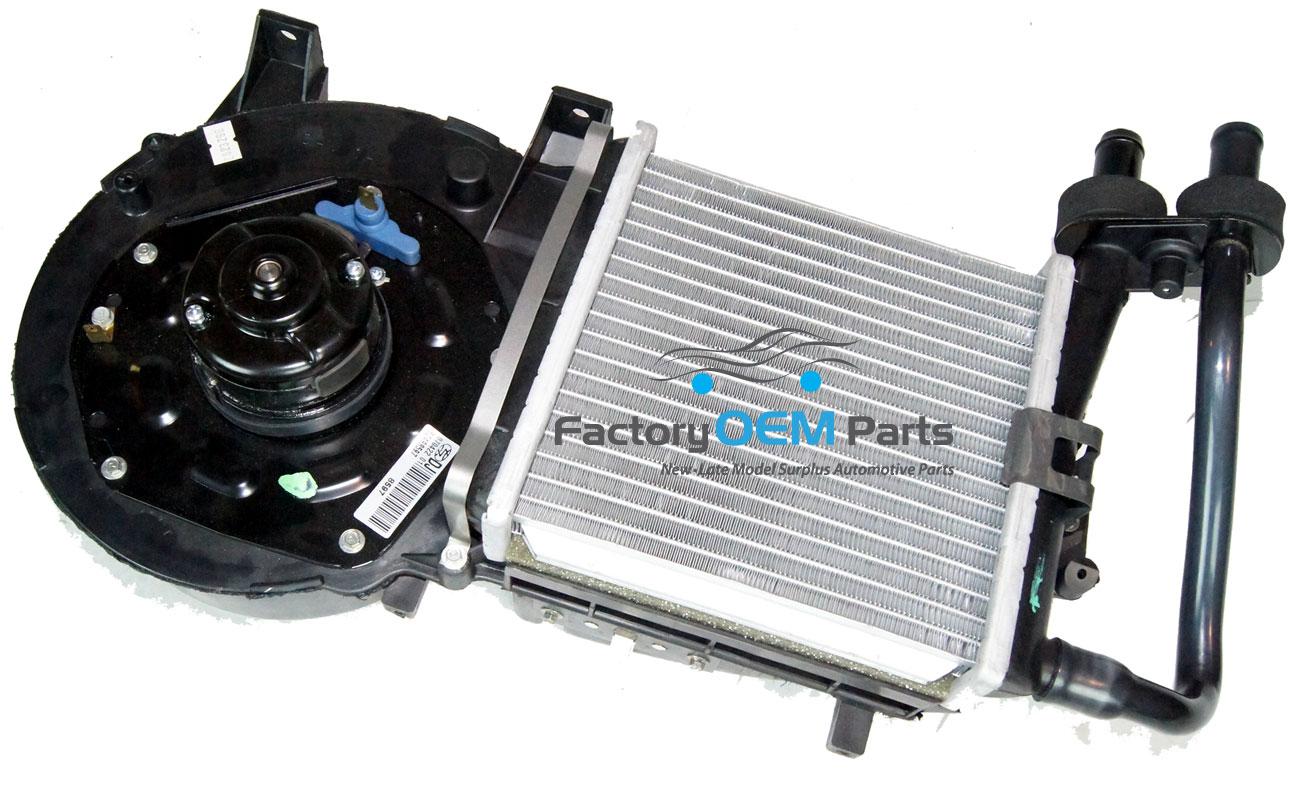 Auxiliary Heater Core Amp Fan Unit For Hot Street Resto Rod